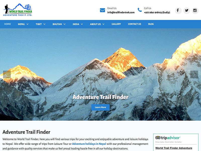 Adventure Trail Finder